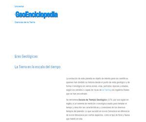 Eras geológicas (GeoEncliclopedia)