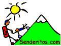 Senteritos: rutas para niños, para Educación Física, para el verano,...