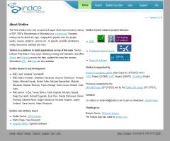 Sindice, the Semantic Web Index