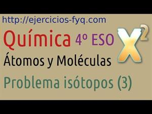 Problema de Isótopos: masa atómica a partir de masas isotópicas. Parte III. Cibermatex