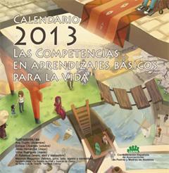 Calendario 2013 de Competencias Básicas | CEAPA - Proyecto ComBas