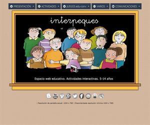 InterPeques. Actividades extraescolares y recursos educativos para Primaria