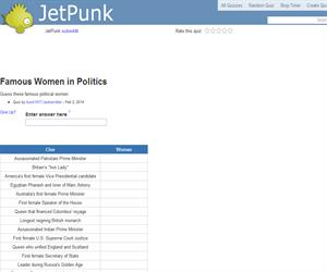 Famous Women in Politics