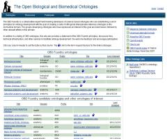 The Open Biological and Biomedical Ontologies
