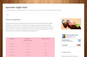Verbos Irregulares (aprenderinglesfacil)
