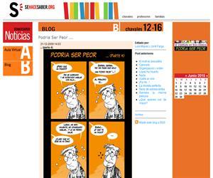 sehacesaber.org: Actividades para mejorar el aprendizaje