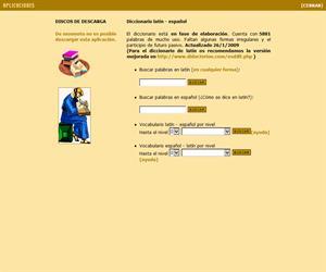 Diccionario de Latín online