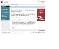 PNTE - Programa de Nuevas Tecnologías y Educación - Navarra
