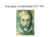 Semiótica y Retórica de Giuseppe Arcimboldo