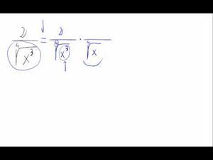 Racionalizar - Raíz cuarta en denominador - Didactalia: material ...