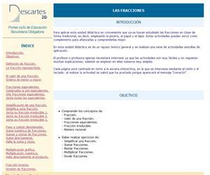 Las fracciones (Descartes)