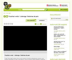 Fiscalitat verda / Lideratge /Gelatines de peix  (Edu3.cat)