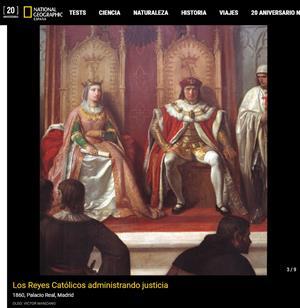 Los Reyes Católicos: entre el amor y la política (National Geographic)