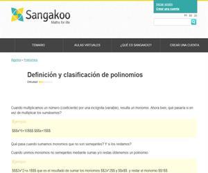 Definición y clasificación de polinomios