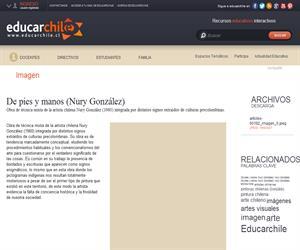 De pies y manos (Nury González) (Educarchile)