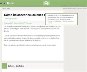 Cómo balancear ecuaciones químicas: 10 pasos ( WikiHow)