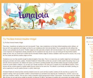Luna Lola (Blog Educativo de Educación Infantil)