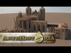 Catedrales de León y Burgos estereoscópicas