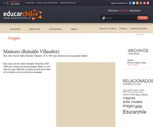 Manicero (Reinaldo Villaseñor) (Educarchile)