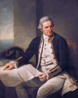 Los viajes del explorador James Cook
