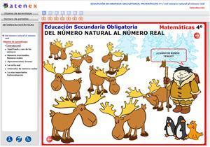 Del número natural al número real. Matemáticas 4º Secundaria