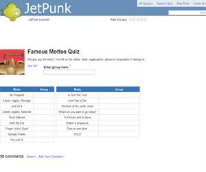 Famous Mottos Quiz