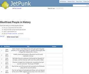 Wealthiest People in History