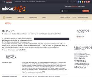 Da Vinci 2 (Educarchile)