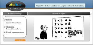 Matemáticas de Secundaria y Bachillerato. José Luis Lorente Aragón