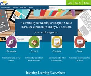 Curriki, una comunidad de educadores con infinidad de recursos educativos (en inglés)