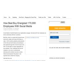 How Best Buy Energized 170,000 Employees With Social Media (Jeff Bullas)