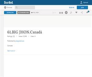 Big Jhon, ficha de la danza deCanadá