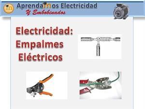 Realizar empalmes eléctricos