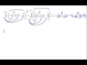 Combinación lineal de polinomios