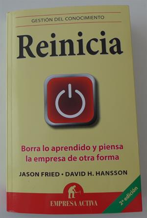 Reinicia, el libro que recomendaría a docentes como tú