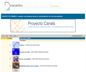 PROYECTO CANALS: canales cartesianos hacia el conocimiento de las matemáticas