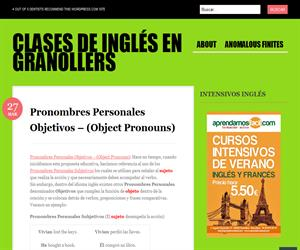 Exercises: Pronombres Personales Objetivos - Object Pronouns II (clasesdeinglesengranollers)