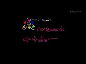 Diferencias entre combinaciones y variaciones