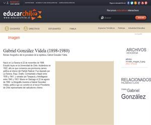 Gabriel González Videla (1898-1980) (Educarchile)