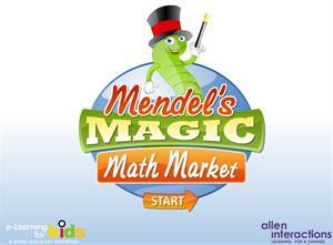 Mercado matemático mágico de Mendel. MathMarket