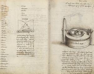 Leonardo interactivo (Biblioteca Nacional de España-BNE)