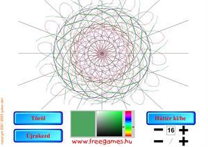Generador de mandalas (freegames.hu)