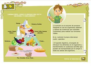 ¿Sabes elaborar una dieta saludable y equilibrada? Biología y Geología para 3º de Secundaria