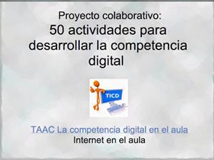 Actividades para desarrollar la competencia digital