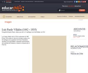 Luis Pardo Villalón (1882 - 1935) (Educarchile)