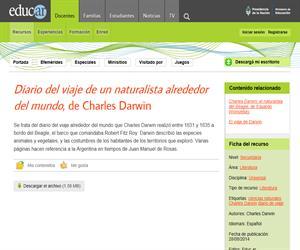 Charles Darwin: Diario de viaje de un naturalista