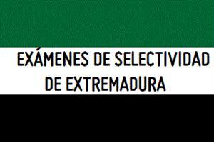 Exámenes de Selectividad de Extremadura