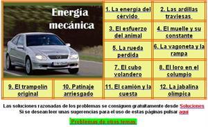Problemas de Energía Mecánica (nivel superior)
