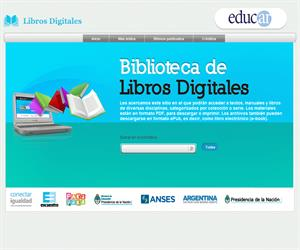 Biblioteca digital de Educ.ar