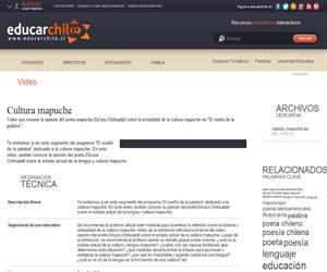Cultura mapuche (Educarchile)
